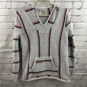 Aritzia TNA heavy pullover sweater with hood